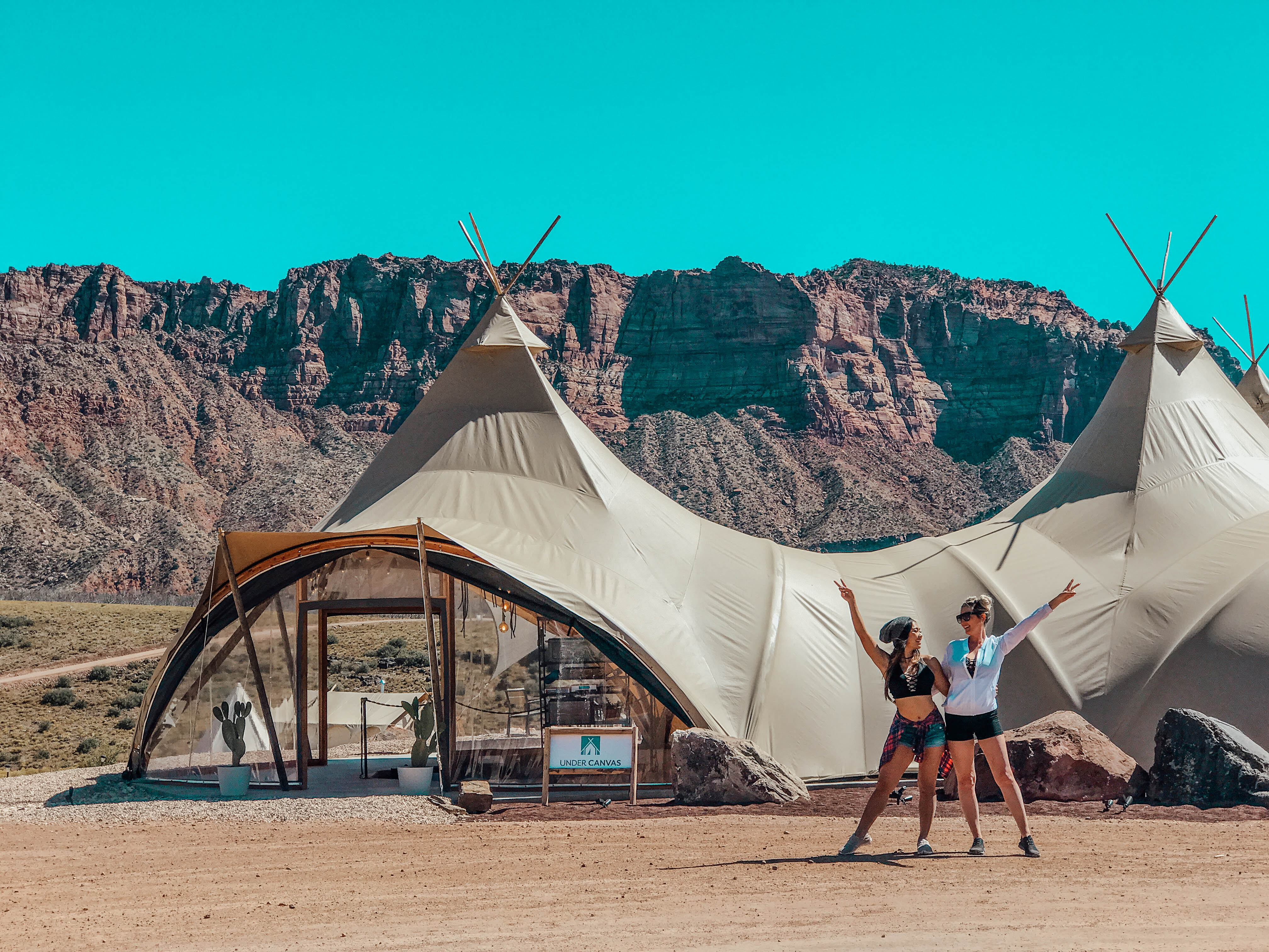 Glamping at Under Canvas Zion