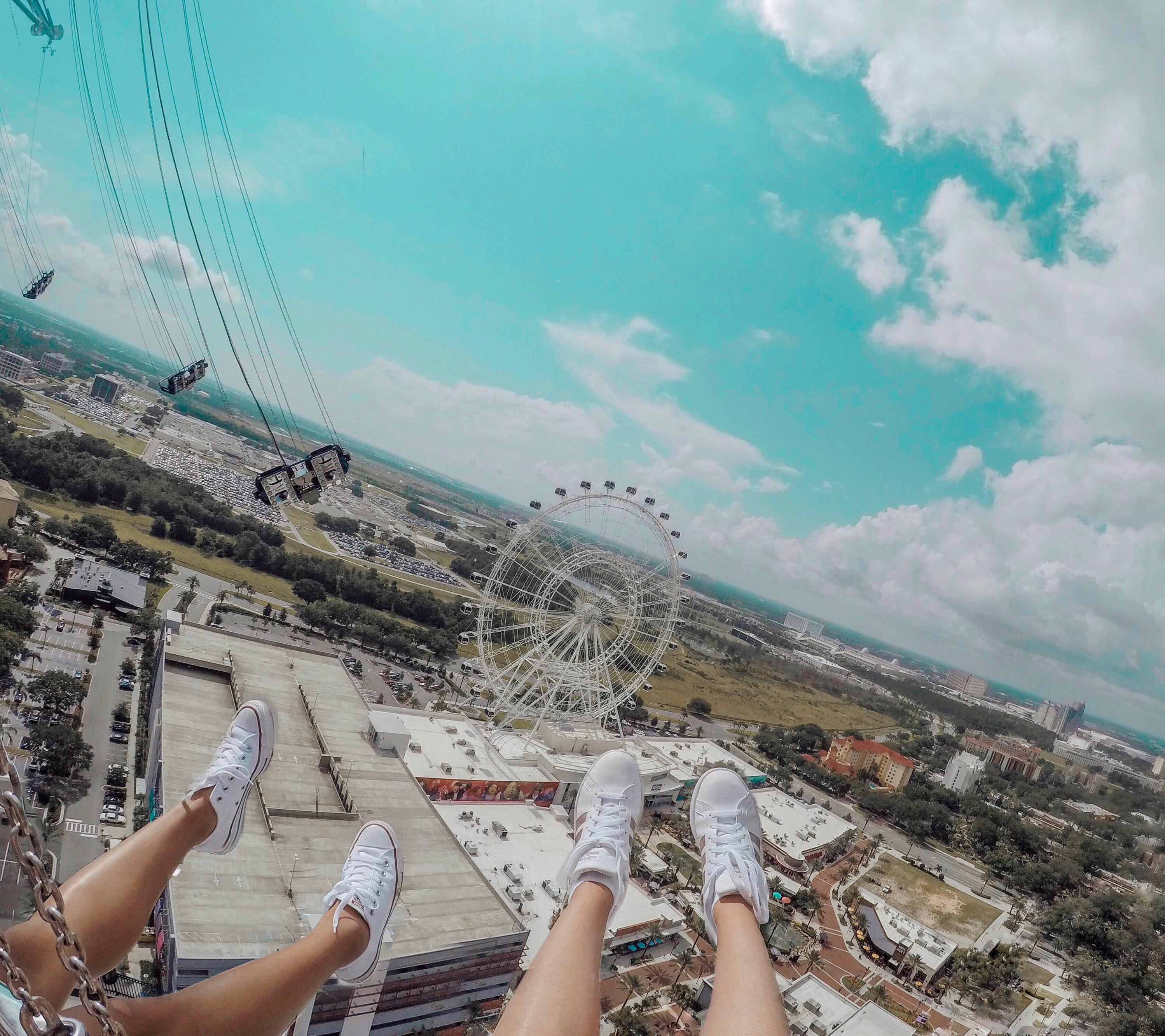 We Rode the World's Tallest Swing Ride!