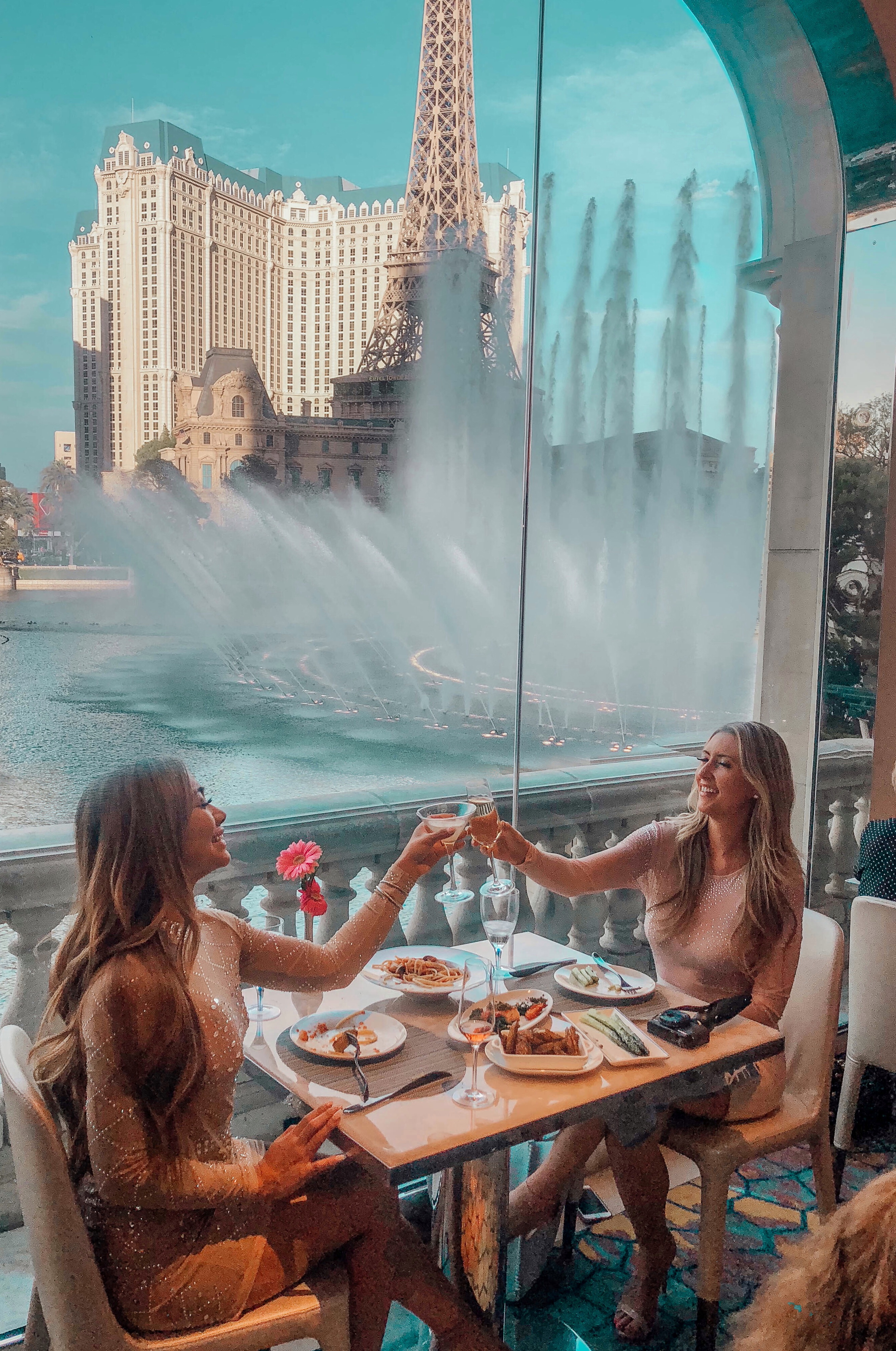 Best Restaurant With a View at Lago in Las Vegas