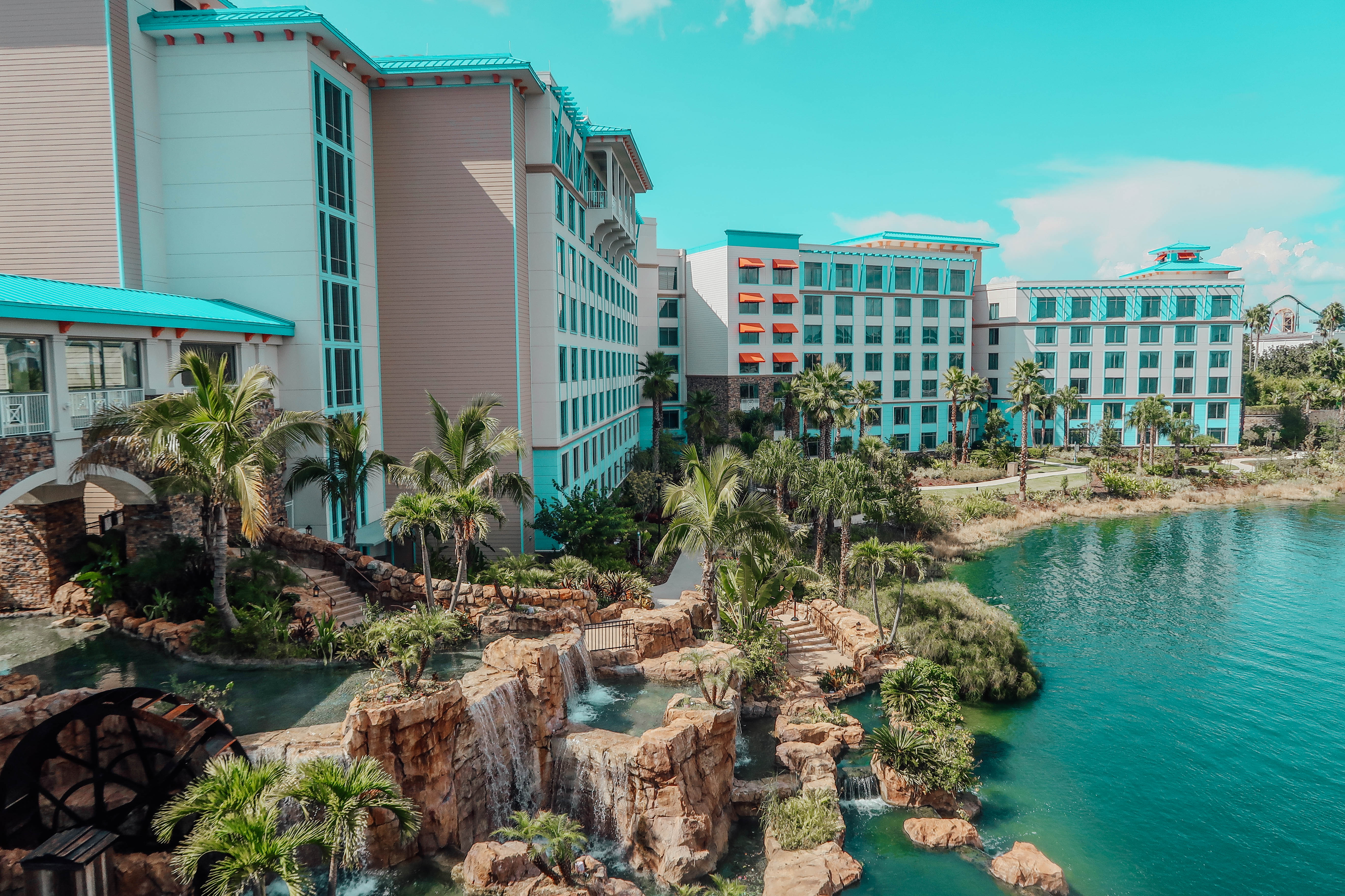 Our Home Away From Home: Loews Sapphire Falls