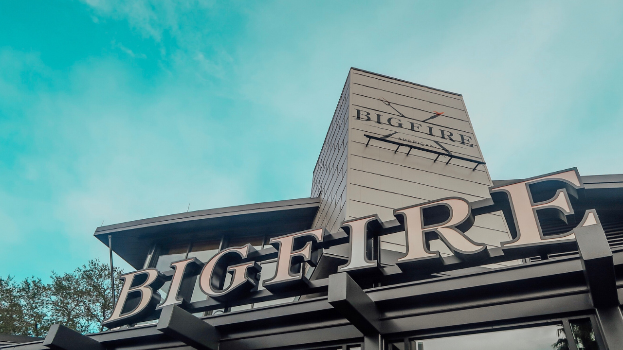 Bigfire Restaurant: The Newest Addition to Universal Orlando's CityWalk