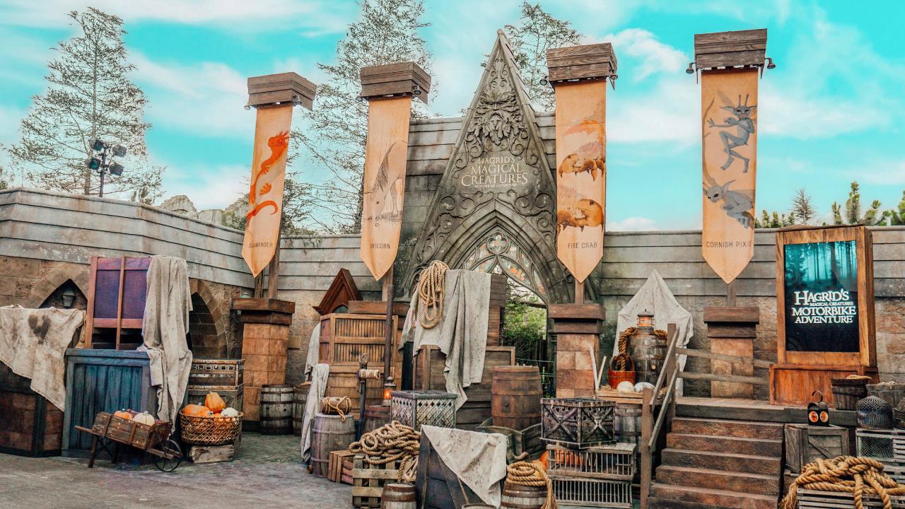 First Look: Hagrid's Magical Creatures Motorbike Adventure Ride at Universal Orlando Resort