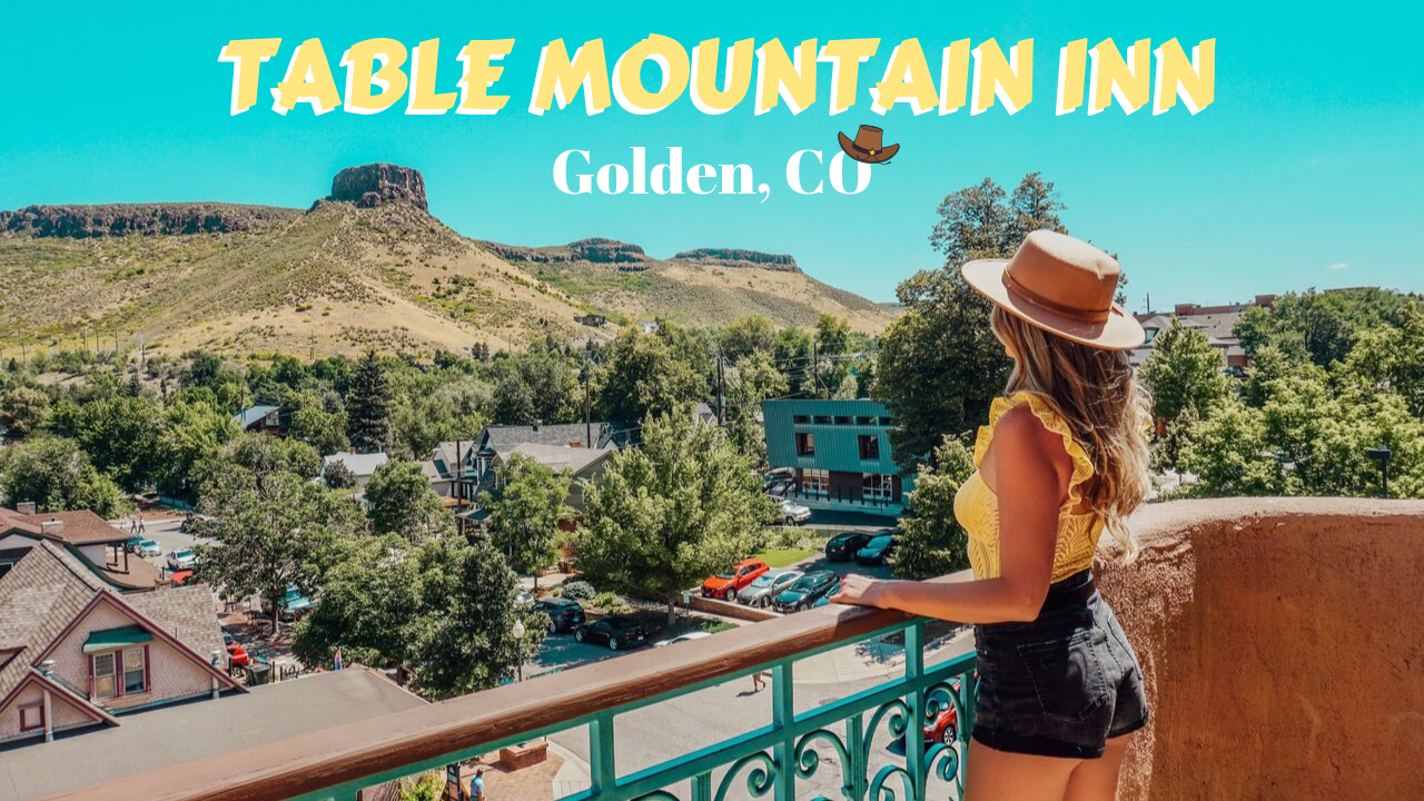 A Charming Stay at Table Mountain Inn in Golden, Colorado!