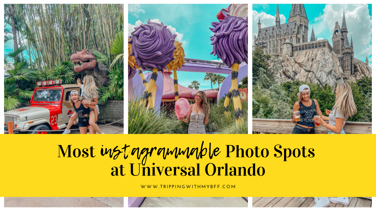 Most Instagrammable Spots at Universal Orlando!