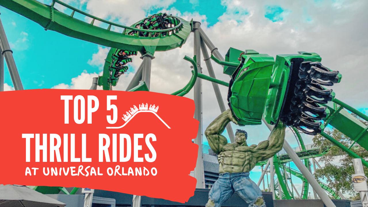 5 Best Thrill Rides at Universal Orlando