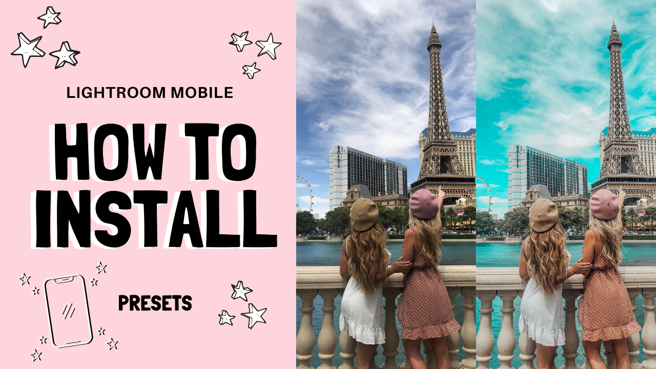 How to Install Lightroom Mobile Presets