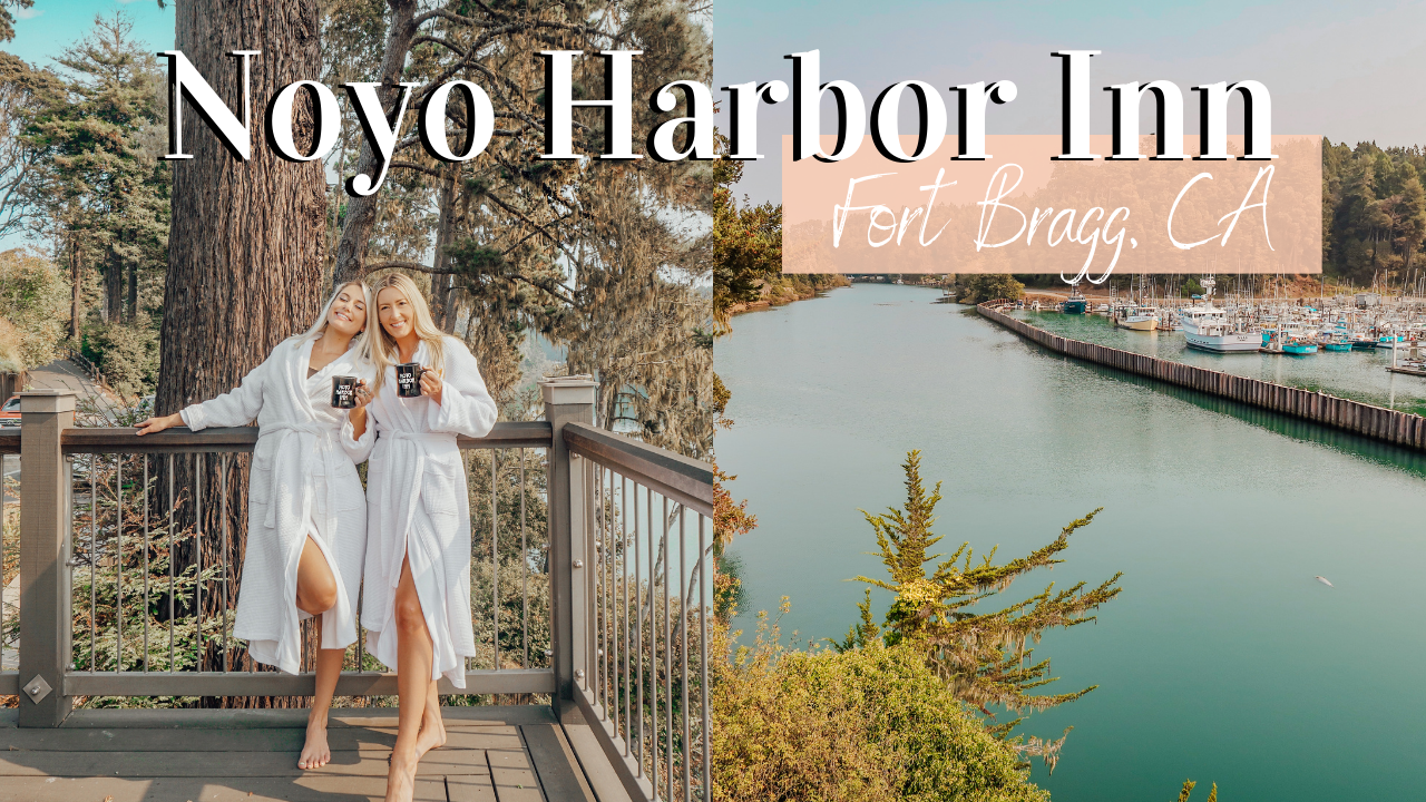 Our Stay at Noyo Harbor Inn in Fort Bragg, CA!